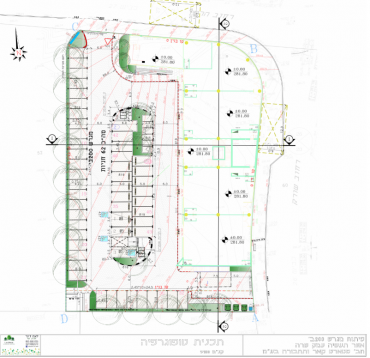 תכנון נוף אזור תעשיה עמק שרה. באדיבות ליאת דינר