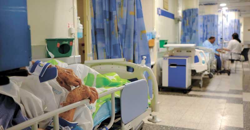 רק שאלה עומס בבתי חולים צילום תומר אפלבאום