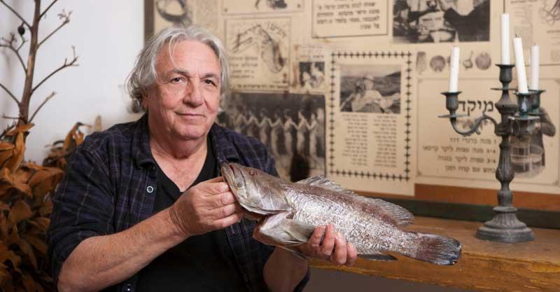 """הבעלים של מסעדת שורי בורי, משה לוי. צילום: אנטולי מיכאלו, יח""""צ"""