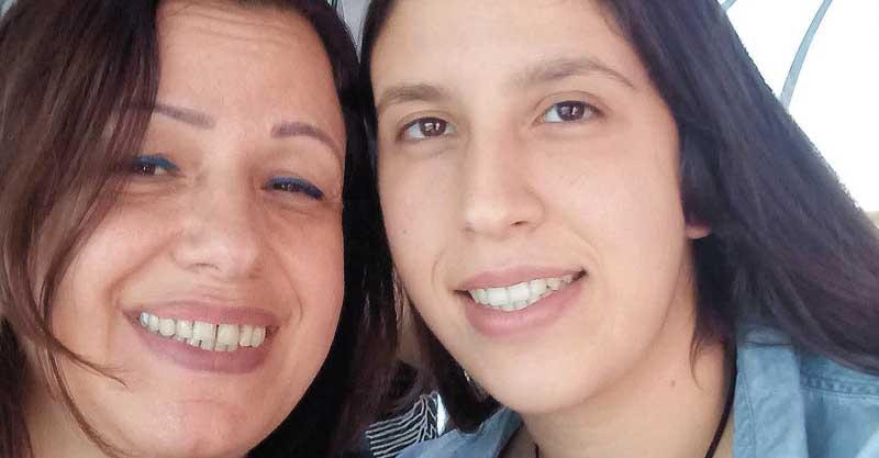 אור קניז-כהן ובתה הילי