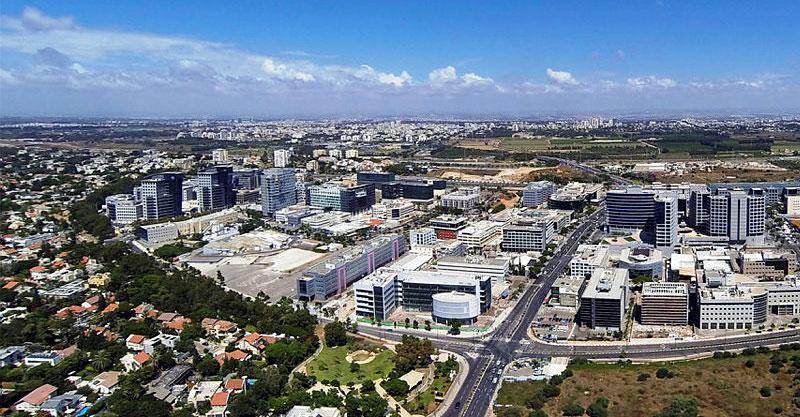 אזור התעשיה הרצליה פיתוח. צילום באדיבות עיריית הרצליה