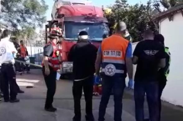 התאונה הבוקר בנווה עמל