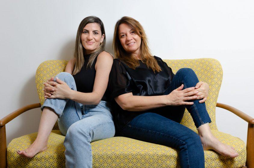 דנה מרכוס ואורטל בר. צילום: ענבל גורן