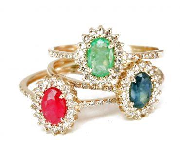 דיאנה יהלומים. באדיבות פרנקו תכשיטים