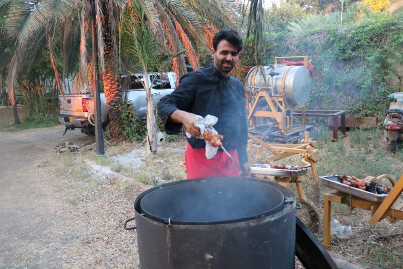 השף רודד בפעולה (צילום: שף רודד)