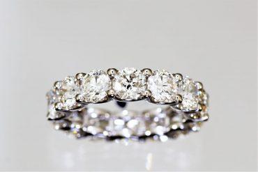 טבעת יהלומים. באדיבות קורט תכשיטים