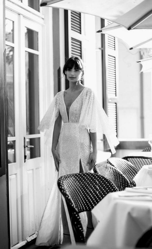 """שילת איפרגן שמלות כלה: """"תהליך אישי שהכלה ואני עוברות יחד"""" (צילום: ליאור רוטשטיין)"""