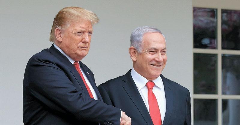 בנימין נתניהו ודונאלד טראמפ. צילום AP