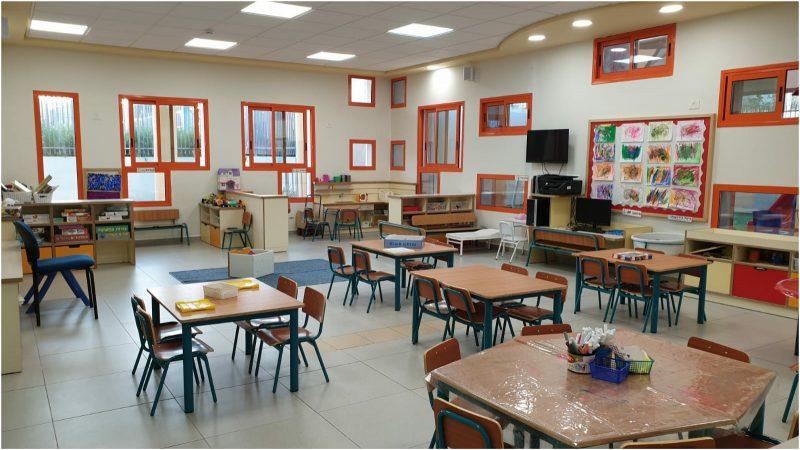 גן ילדים בהרצליה עבור ילדי עובדי מערכת הבריאות. צילום דוברות עיריית הרצליה