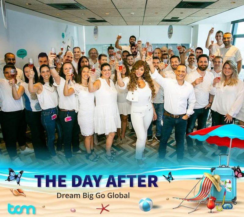 צוות TCM- גם בימי הקורונה נשארים מאוחדים בעבודה מהבית ומעניקים ערך ללקוחותינו מהעולם החדש (צילום: אורי כרמי)