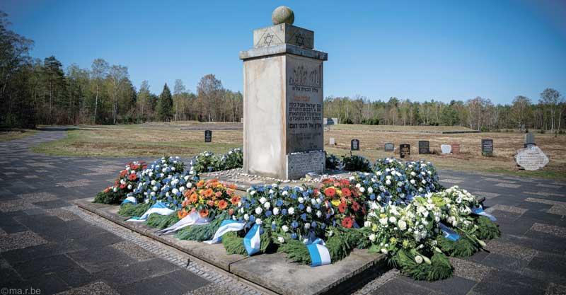 אתר הזיכרון בברגן-בלזן צילום Martin Bein, באדיבות ארגון שארית הפליטה ברגן-בלזן בישראל