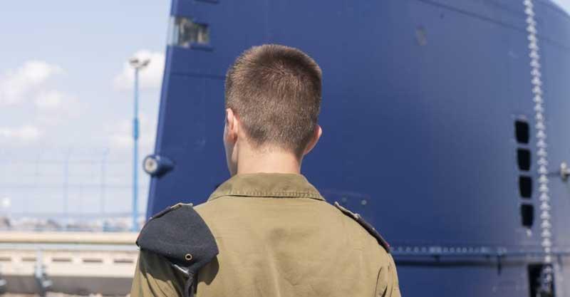 """סמל נ'. צילום דובר צה""""ל"""