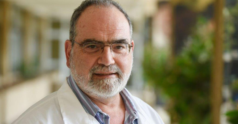 """מנהל בית החולים בית לוינשטיין, ד""""ר חגי אמיר. צילום אורן יזרעאל"""