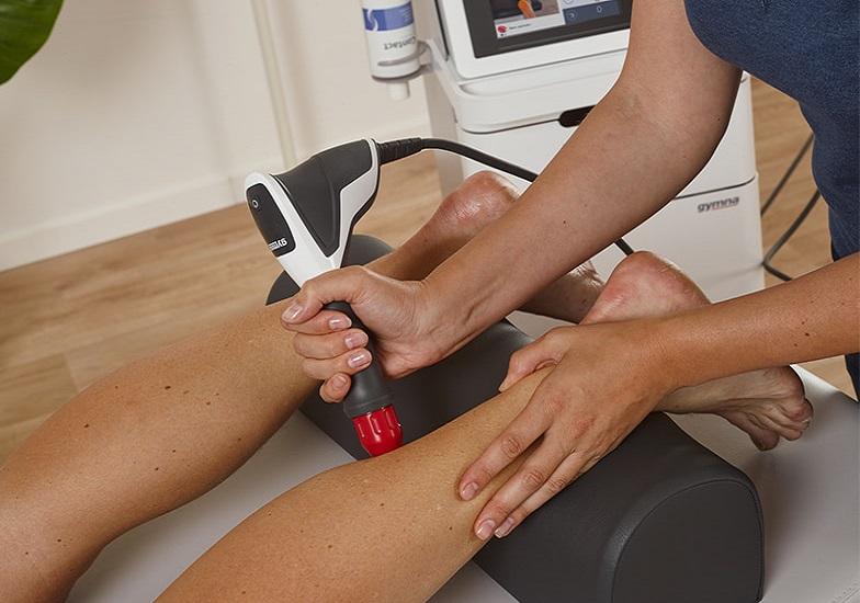 טיפול בגלי הלם (צילום: חברת gymna)